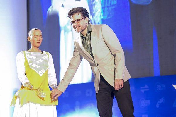 Sophia the Robot founder David Hanson
