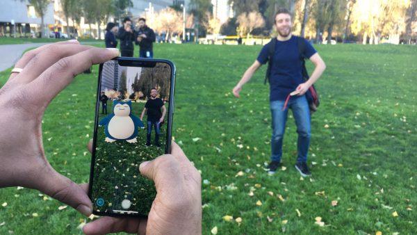 Pokemon Go Augmented Reality Gameplay