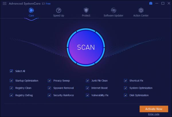 Advanced SystemCare CCleaner alternative