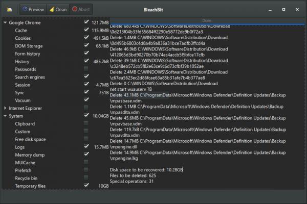 BleachBit CCleaner alternative
