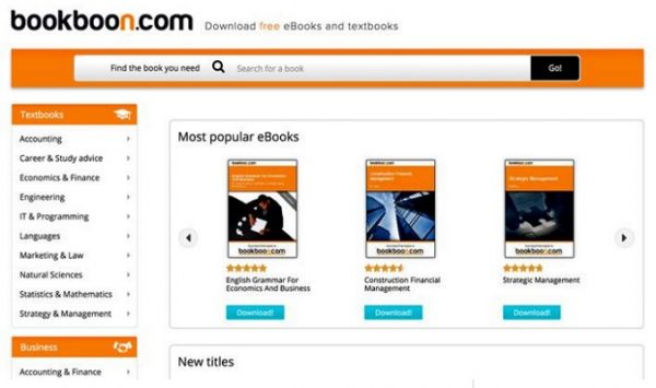 BookBoon free kindle books
