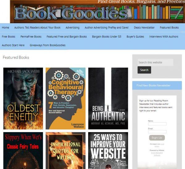 BookGoodies free kindle books