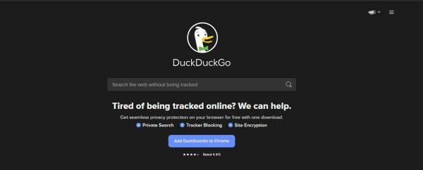 DuckDuckGo search engines