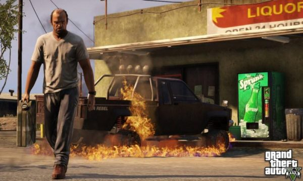 GTA V on Xbox or PS4