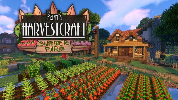 best minecraft mods pam's harvestcraft