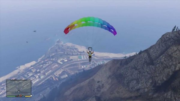 How to Equip Your Parachute on GTA V