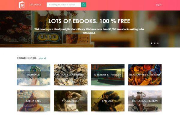 ManyBooks free kindle books