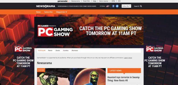 Newsarama read comics online