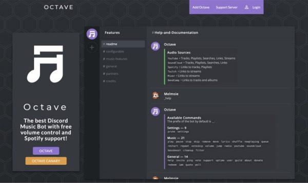 Octave Discord Bot