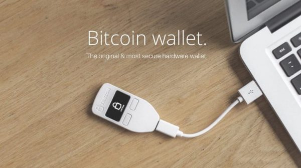 Trezor One Crypto Wallet