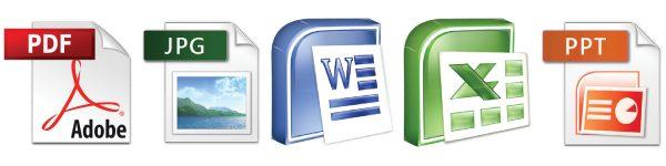 Types of Files on Desktop