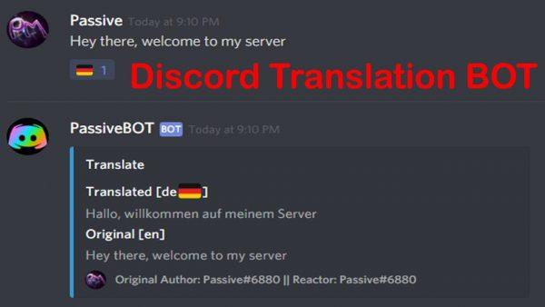 Discord Translator Bot