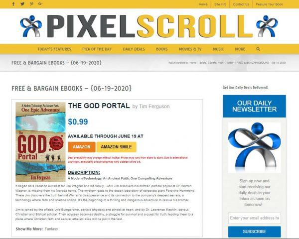 PixelScroll free kindle books