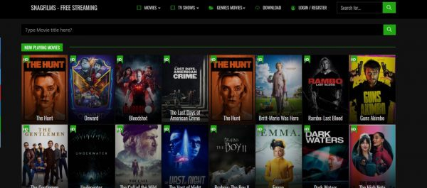 SnagFilms free movie streaming sites