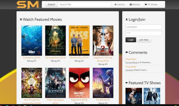 Solar Movies free movie streaming sites