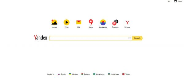 Yandex search engines