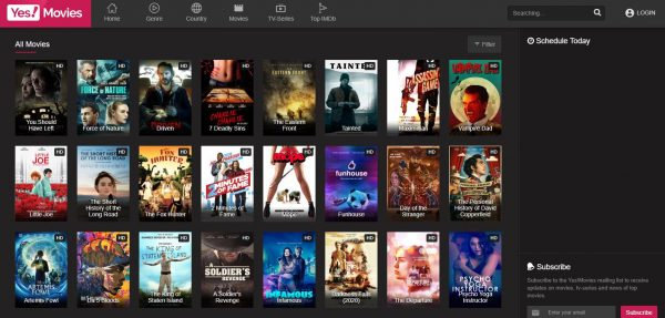 Yes Movies free movie streaming sites