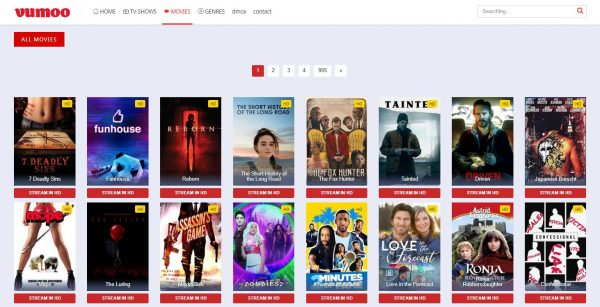 Vumoo free movie streaming sites