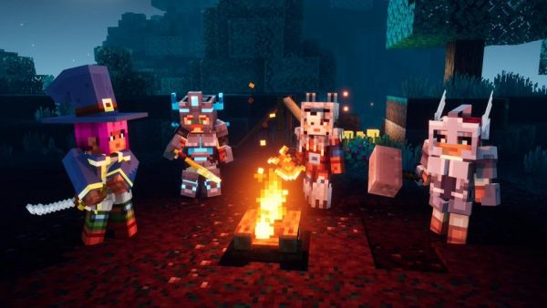minecraft dungeons characters