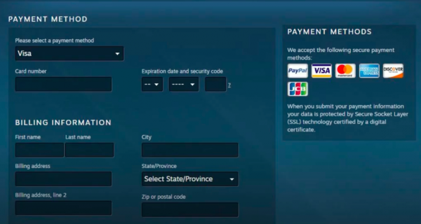 Gift Steam Wallet Funds Step 8