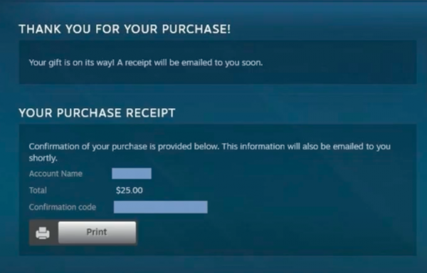 Gift Steam Wallet Funds Step 10