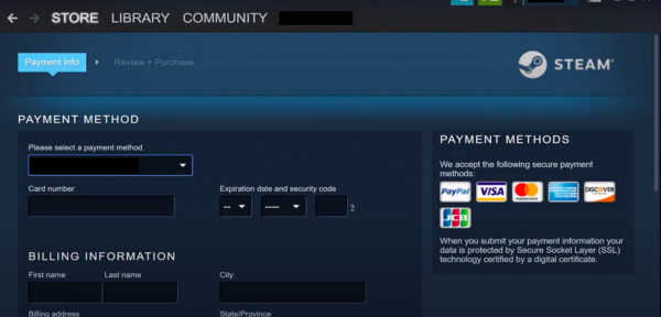 Cash in to the Steam App Step 4