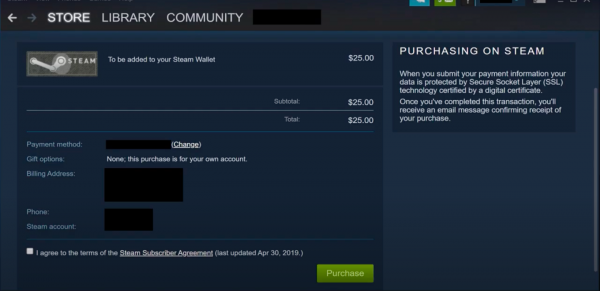 Cash in to the Steam App Step 5