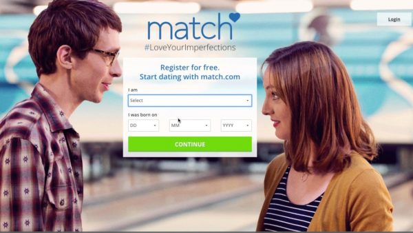 Screenshot for Match.com commercial