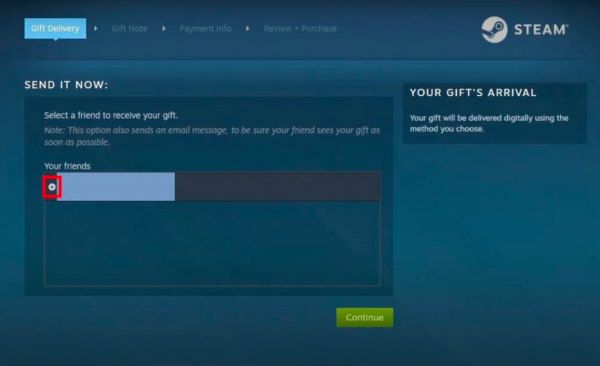 Gift Steam Wallet Funds Step 5