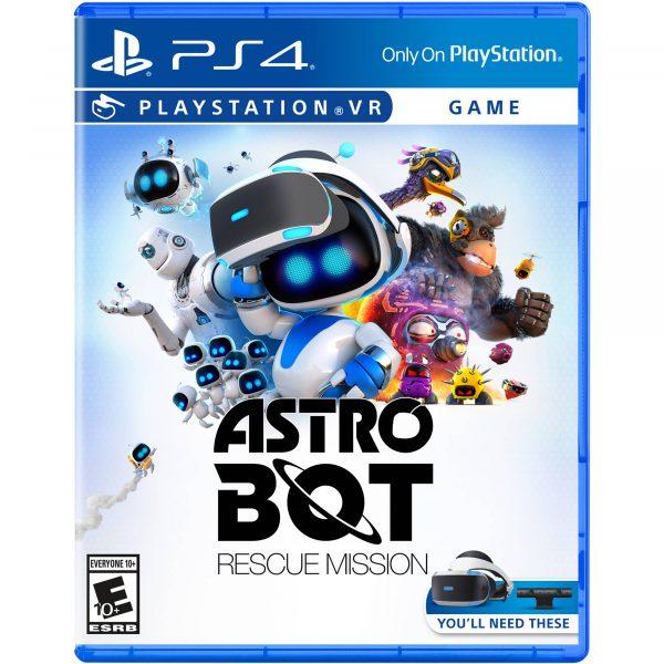 Astro Bot PSVR game
