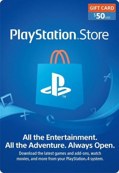 PSN Store Gift Card