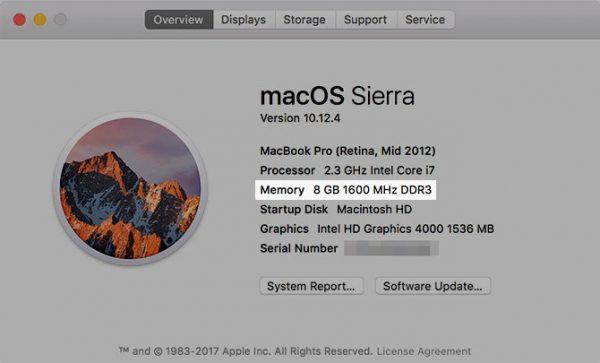 RAM Mac