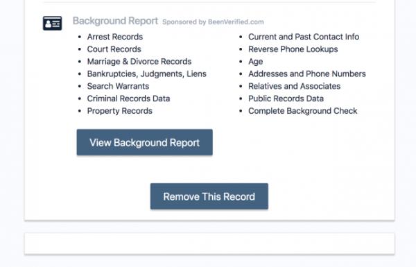 Remove Record