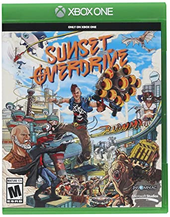 Sunset Overdrive xbox one x game