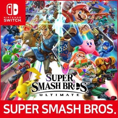 Super Smash Bros Nintendo Switch game