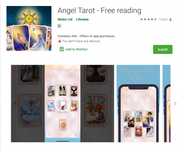Angel Tarot: Free Tarot Card Reading