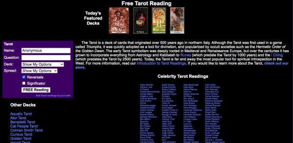 Facade: Free Tarot Card Reading