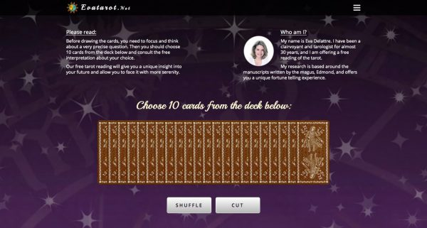 Eva Tarot: Free Tarot Card Reading