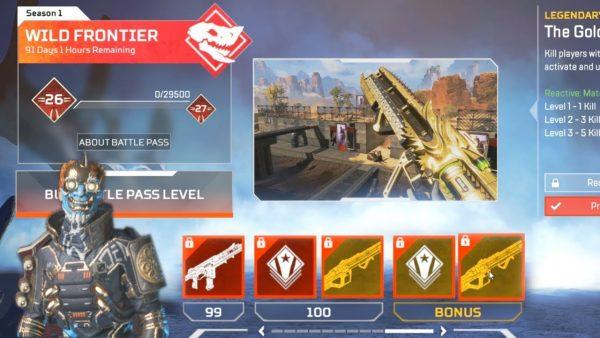 Apex Legends Battle Pass Progression