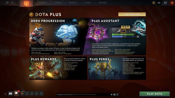 DOTA Plus Subscription