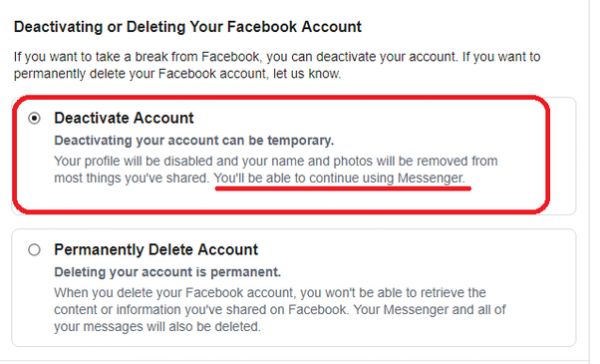 Deactivating Vs Deleting: The Differences