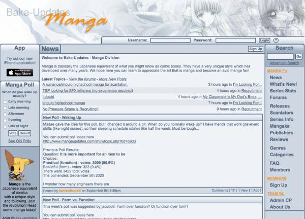 Manga Updates