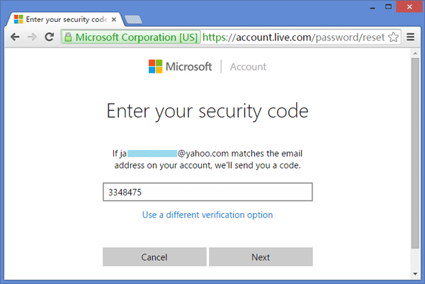how to reset password on windows 10 From Microsoft's Website