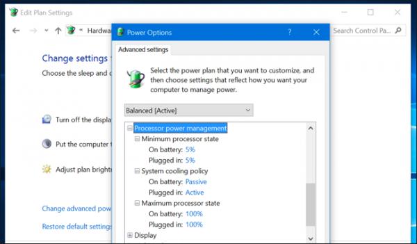 Modify your Laptop Settings
