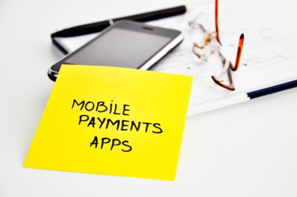 Stick-On Mobile Payment Apps