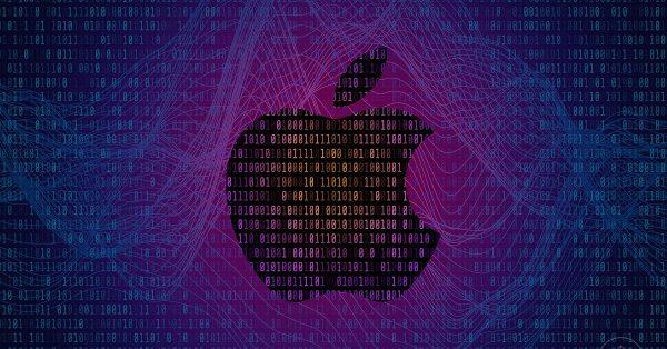 Apple One Purple Background