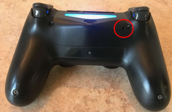 Resetting PS4 Controller