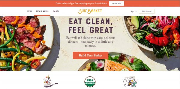 SunBasket Website