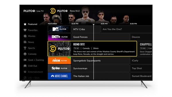 how does pluto TV works