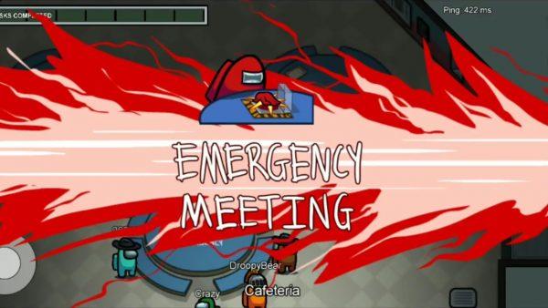 Emergency Meetings on Among Us game